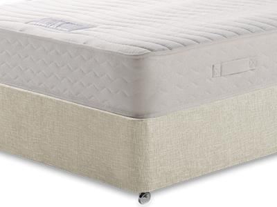 Healthbeds Ltd Luxury Pocket Memory 1200 4 6 Double Mattress with Executive Barley Double 0 Drawer Divan Set