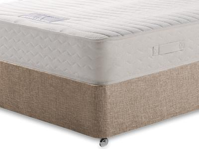 Healthbeds Ltd Luxury Pocket Memory 1200 4 Small Double Mattress with Executive Biscuit Small Double No Drawers Divan Set