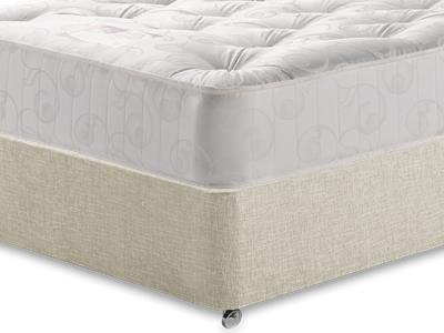 Snuggle Beds Gold Tuft Ortho 4 6 Double Mattress with Executive Barley Double 0 Drawer Divan Set
