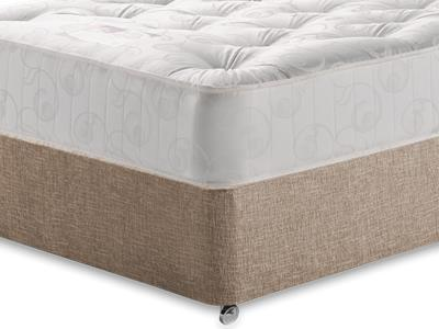 Snuggle Beds Gold Tuft Ortho 4 Small Double Mattress with Executive Biscuit Small Double No Drawers Divan Set
