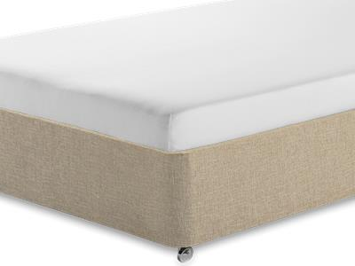 Silentnight Comfortable Foam Sleep 3 Single Mattress with Classic Mink Single Slide Store Divan Set
