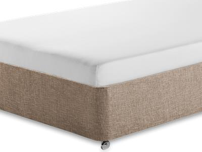 Silentnight Comfortable Foam Sleep 5 King Size Mattress with Executive Biscuit King Size No Drawers Divan Set