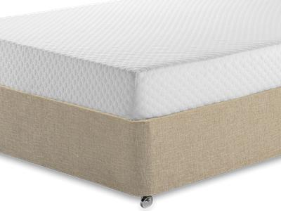 Silentnight Memory 7 Sleep 3 Single Mattress with Classic Mink Single Slide Store Divan Set