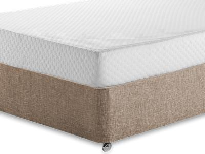 Silentnight Memory 7 Sleep 4 6 Double Mattress with Executive Biscuit Double No Drawers Divan Set