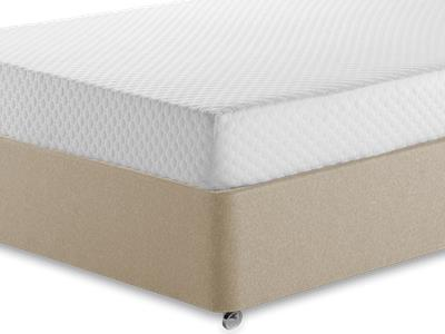 Silentnight Memory 7 Sleep 4 6 Double Mattress with Executive Sandstone Double 4 Drawer Divan Set
