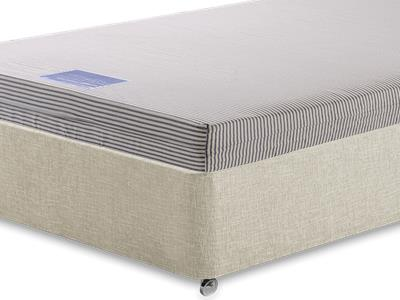 Breasley University Contract Mattress (Source5) 4 Small Double Mattress with Executive Barley Small Double 0 Drawer Divan Set