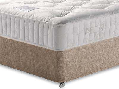 Restopaedic Restapocket 1000 4 Small Double Mattress with Executive Biscuit Small Double No Drawers Divan Set