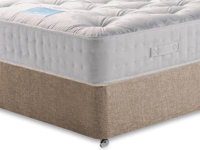 Restopaedic Restapocket 1200 4 Small Double Mattress with Executive Biscuit Small Double No Drawers Divan Set