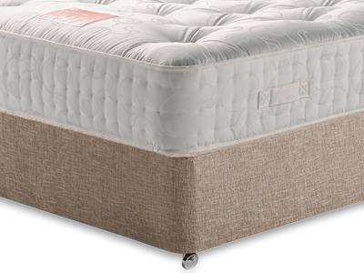 Restopaedic Restapocket 1400 4 Small Double Mattress with Executive Biscuit Small Double No Drawers Divan Set