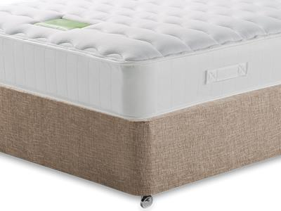 Restopaedic Restaspring Zest 4 Small Double Mattress with Executive Biscuit Small Double No Drawers Divan Set