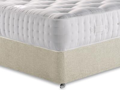 Relyon Ultimate Ortho Support 1500 5 King Size Mattress with Executive Barley King Size 0 Drawer Divan Set
