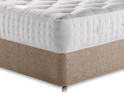 Relyon Ultimate Ortho Support 1500 4 6 Double Mattress with Executive Biscuit Double No Drawers Divan Set