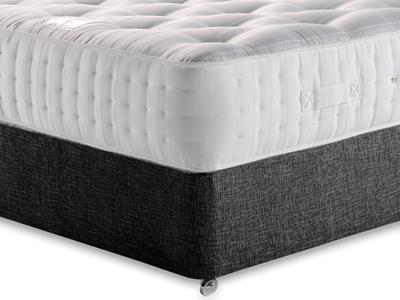 Relyon Ultimate Ortho Support 1500 5 King Size Mattress with Executive Black King Size No Drawers Divan Set