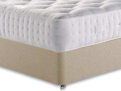 Relyon Ultimate Ortho Support 1500 4 6 Double Mattress with Executive Sandstone Double 4 Drawer Divan Set