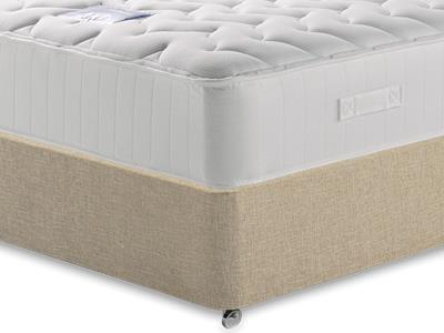 Restopaedic Restapocket 1200 Memory 3 Single Mattress with Classic Mink Single Slide Store Divan Set