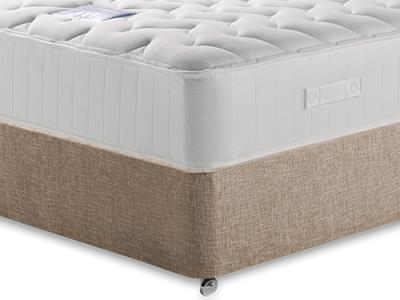 Restopaedic Restapocket 1200 Memory 4 Small Double Mattress with Executive Biscuit Small Double No Drawers Divan Set