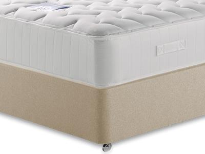 Restopaedic Restapocket 1200 Memory 4 Small Double Mattress with Executive Sandstone Small Double 4 Drawer Divan Set