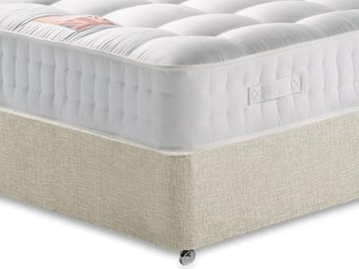 British Bed Company The Baron 3 Single with Executive Barley Single 0 Drawer Divan Set