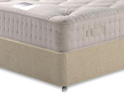 Snuggle Beds New Legend Ortho 2000 3 Single Mattress with Classic Mink Single Slide Store Divan Set