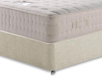 Snuggle Beds New Memory Ortho 2000 5 King Size Mattress with Executive Barley King Size 0 Drawer Divan Set
