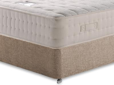 Snuggle Beds New Memory Ortho 2000 4 6 Double Mattress with Executive Biscuit Double No Drawers Divan Set