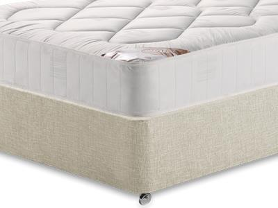 Snuggle Beds Snuggle Damask Quilt 5 King Size Mattress Only Mattress with Executive Barley King Size 0 Drawer Divan Set