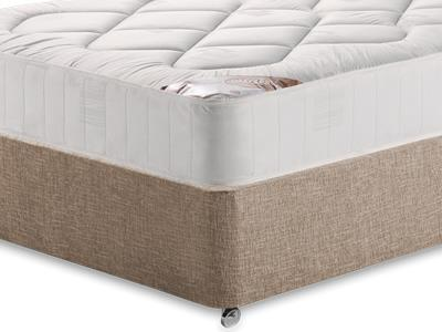 Snuggle Beds Snuggle Damask Quilt 4 Small Double Mattress Only Mattress with Executive Biscuit Small Double No Drawers Divan Set