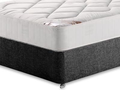 Snuggle Beds Snuggle Damask Quilt 5 King Size Mattress Only Mattress with Executive Black King Size No Drawers Divan Set