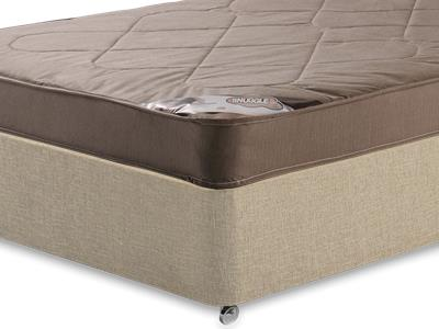 Snuggle Beds Snuggle Light 3 Single Mattress with Classic Mink Single Slide Store Divan Set