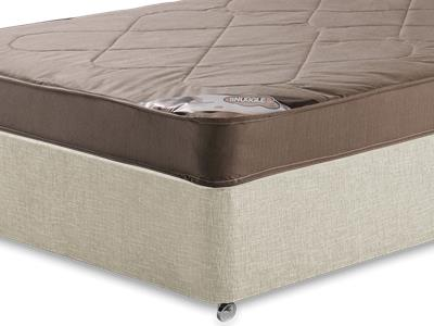 Snuggle Beds Snuggle Light 3 Single Mattress with Executive Barley Single 0 Drawer Divan Set