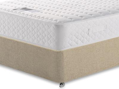 Snuggle Beds Ortho Memory Supreme 2 6 Small Single Mattress with Classic Mink Small Single Slide Store Divan Set