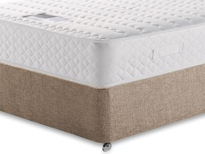 Snuggle Beds Ortho Memory Supreme 4 Small Double Mattress with Executive Biscuit Small Double No Drawers Divan Set