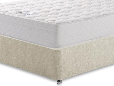 Breasley Platinum Deluxe Memory 4 6 Double Mattress with Executive Barley Double 0 Drawer Divan Set