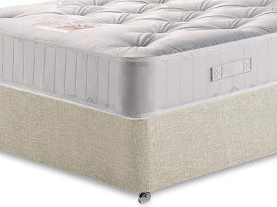 British Bed Company Pocket 1000 5 King Size with Executive Barley King Size 0 Drawer Divan Set