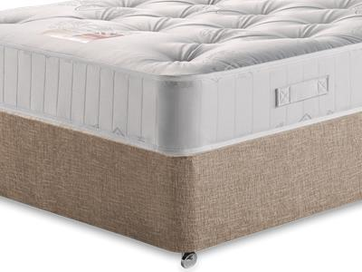 British Bed Company Pocket 1000 4 Small Double with Executive Biscuit Small Double No Drawers Divan Set