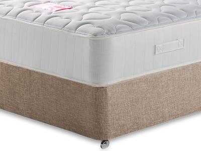 British Bed Company The Love Bed Mattress 4 Small Double with Executive Biscuit Small Double No Drawers Divan Set