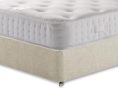 Relyon Pocket Memory Platinum 1500 4 6 Double Mattress with Executive Barley Double 0 Drawer Divan Set