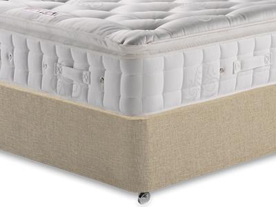 Hypnos Premier Luxury Pillow Top 3 Single Mattress with Classic Mink Single Slide Store Divan Set