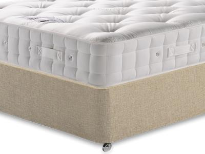 Hypnos Premier Bedstead Mattress 3 Single Mattress with Classic Mink Single Slide Store Divan Set