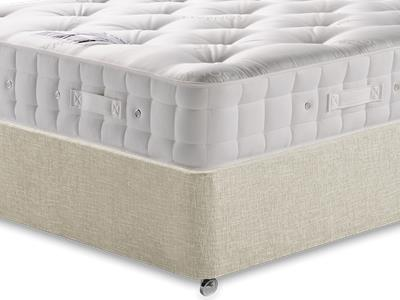 Hypnos Premier Bedstead Mattress 5 King Size Mattress with Executive Barley King Size 0 Drawer Divan Set