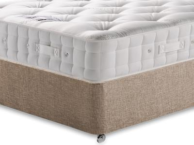 Hypnos Premier Bedstead Mattress 4 Small Double Mattress with Executive Biscuit Small Double No Drawers Divan Set