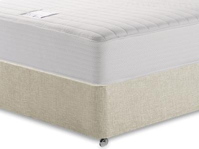 Slumberland Heavenly Memory 4 6 Double Mattress with Executive Barley Double 0 Drawer Divan Set