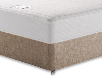 Slumberland Heavenly Memory 4 Small Double Mattress with Executive Biscuit Small Double No Drawers Divan Set