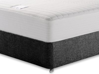 Slumberland Heavenly Memory 5 King Size Mattress with Executive Black King Size No Drawers Divan Set