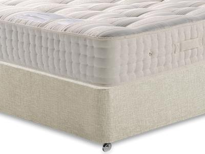 Sleepeezee New Backcare Ultimate 2000 5 King Size Mattress with Executive Barley King Size 0 Drawer Divan Set
