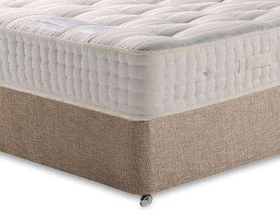 Sleepeezee New Backcare Ultimate 2000 4 6 Double Mattress with Executive Biscuit Double No Drawers Divan Set