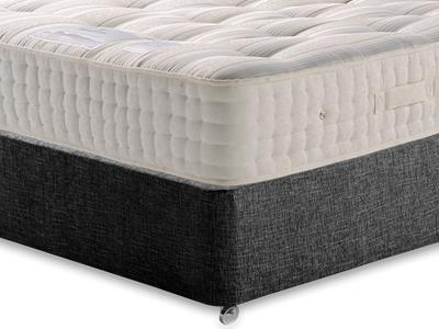 Sleepeezee New Backcare Ultimate 2000 5 King Size Mattress with Executive Black King Size No Drawers Divan Set