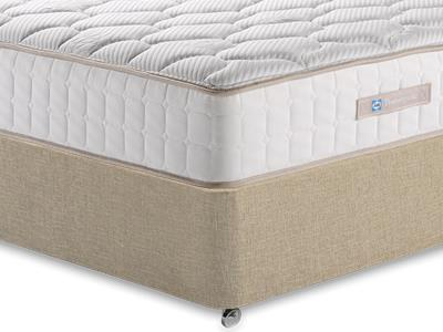 Sealy Casoli 1200 3 Single Mattress with Classic Mink Single Slide Store Divan Set