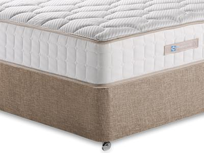 Sealy Casoli 1200 4 6 Double Mattress with Executive Biscuit Double No Drawers Divan Set