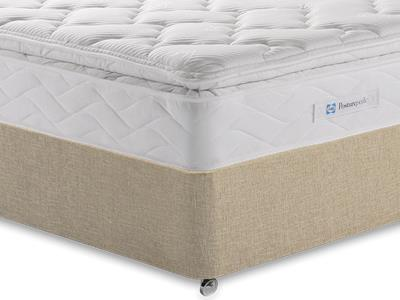 Sealy Millionaire Luxury 3 Single Mattress with Classic Mink Single Slide Store Divan Set